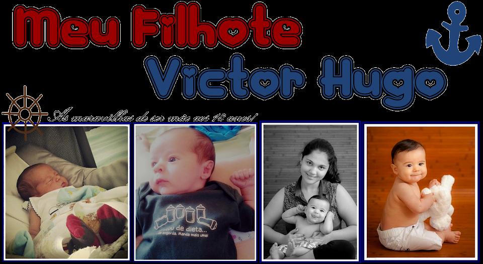 Meu filhote Victor Hugo