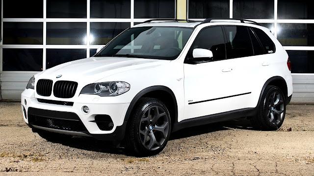 BMW X5 E70 Blanca