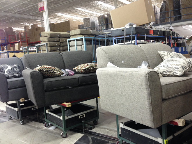 Behind The Scenes At DecorRest Rambling Renovators - Decor rest sectional