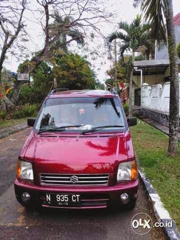 Jual Suzuki Karimun Gx Merah Bekas, Th2005, 84jt | Mobil ...