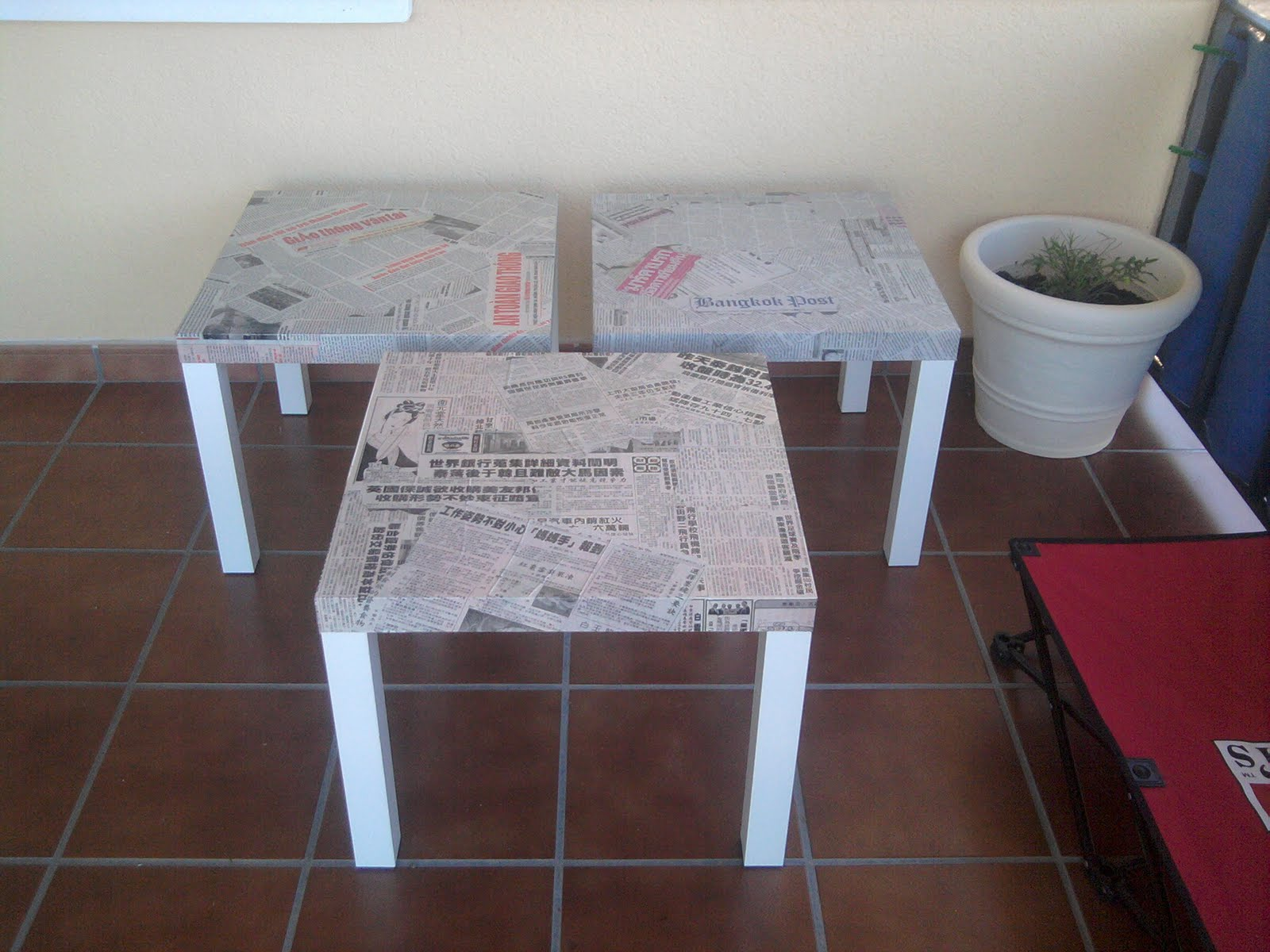 Ikea hack per dicos orientales para el sobre de las - Mesa transparente ikea ...