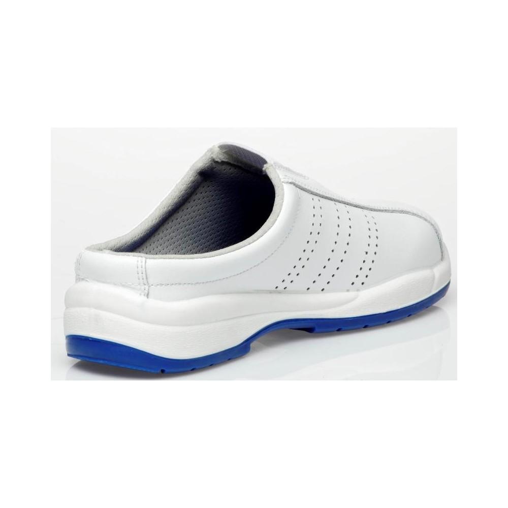Vista del Zapato Hospitalario Alba Blanco - Robusta
