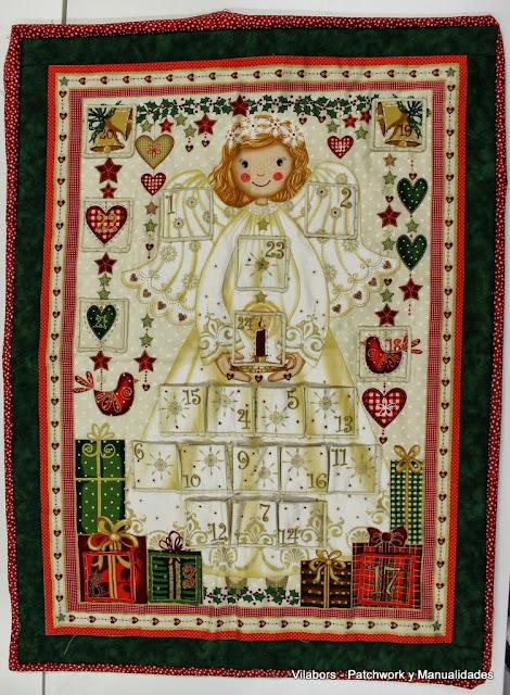 Calendario de Adviento de Angel, Navidad 2013