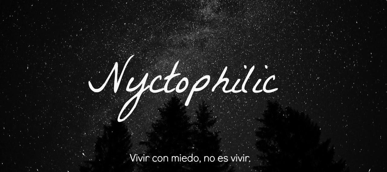 Nyctophilic