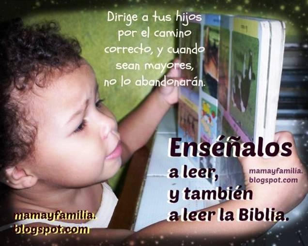 Por qué es importante leer. Reflexiones para mamá y familia, madres, Postales, tarjetas de versículos bíblicos, imágenes niña leyendo, razones para aprender a leer bien