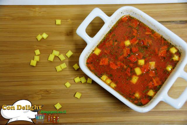 מרק עגבניות חריף קנור Knorr's spicy tomato soup