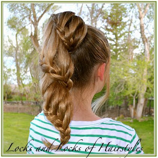 Spiral Lace Braid Pony