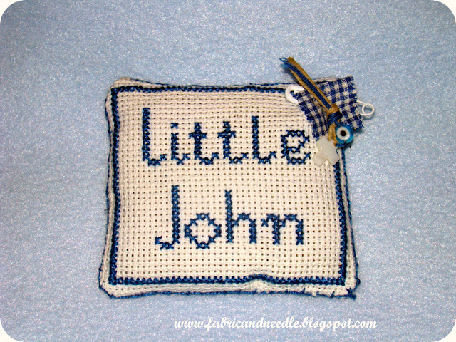 handmade lavender cushion