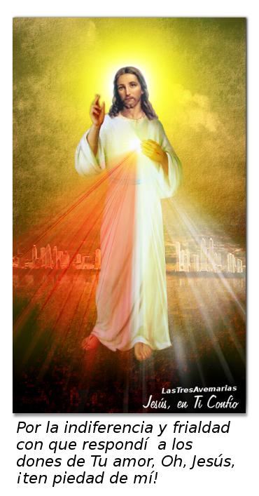 oracion para pedir perdon a jesus
