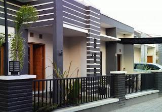 gambar desain pagar rumah minimalis