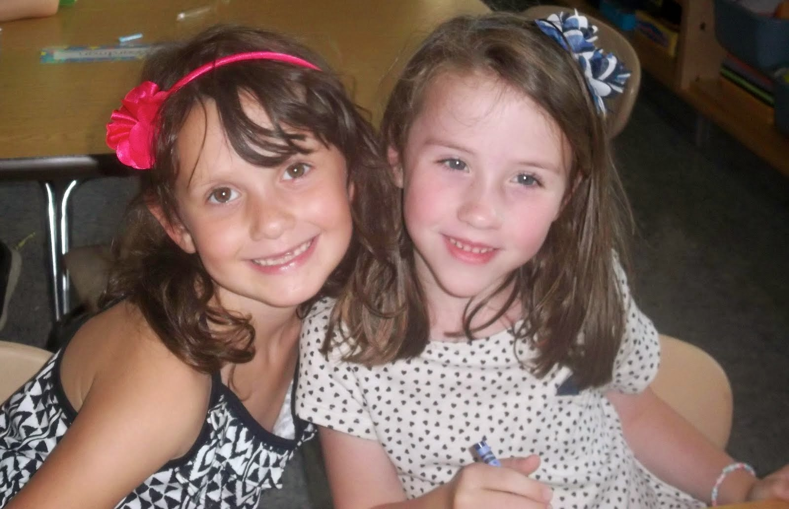 Megan and Abi