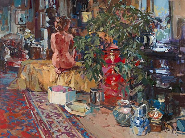 Paul Hedley 1947 | British Figurative painter