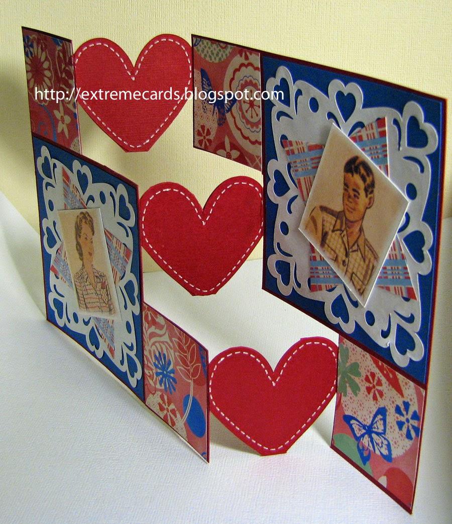 heart step card open