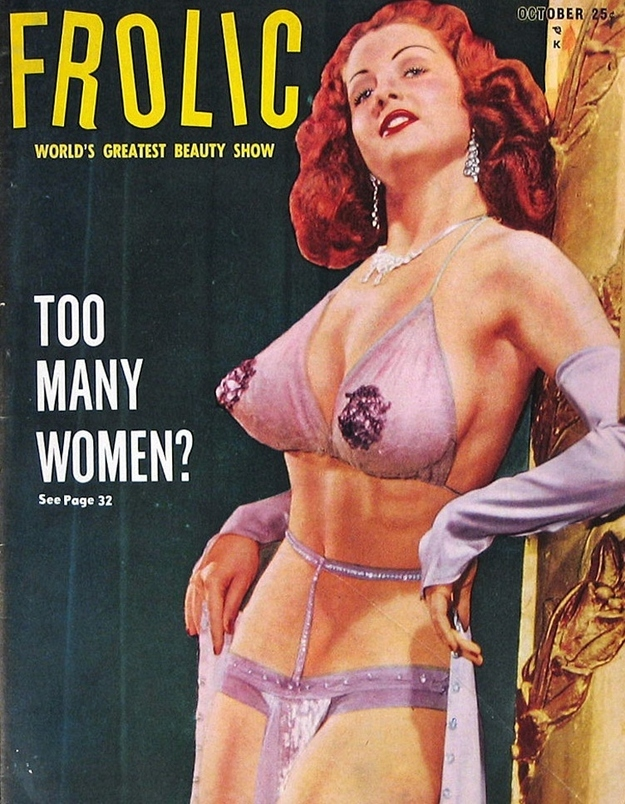 Vintage Frolic Magazine Vol 3 #3 December 1953 Dec VF 8.0 UNREAD See my store