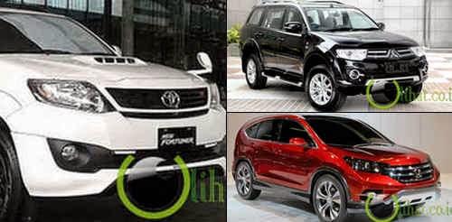 5 Mobil Suv yang paling Terlaris di Indonesia 2014
