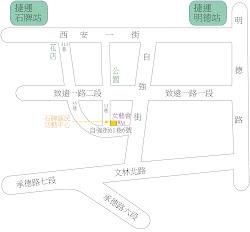 女藝會地圖 waa map