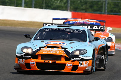 GPR Aston Martin Racing: Gulf DBRS9 for the Blancpain Endurance Series Belcar and the Endurance Championship