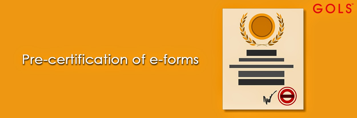 Pre-Certification of E-Forms - By C.S. Suresh ThakurDesai - GOLS CS ...