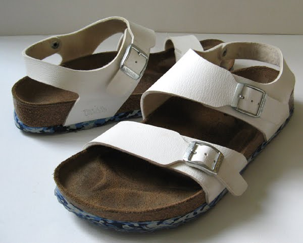 birkenstock milano white leather