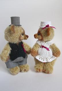 Подарок на свадьбу, свадьба, молодожены, мишка крючком, тедди, teddy