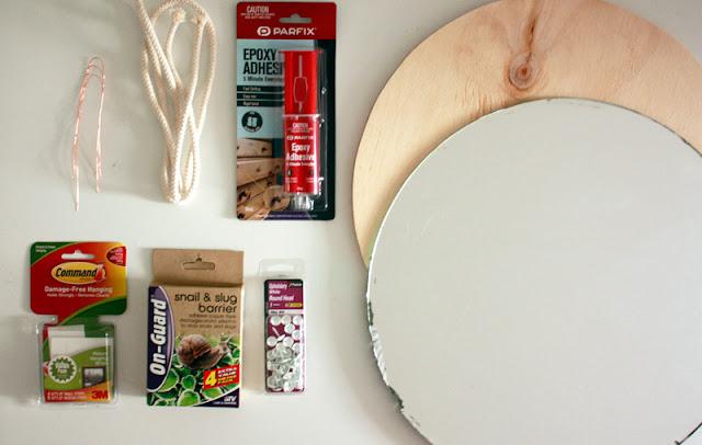 DIY] Espejo circular con marco de cobre - El Blog de Cositas Decorativas