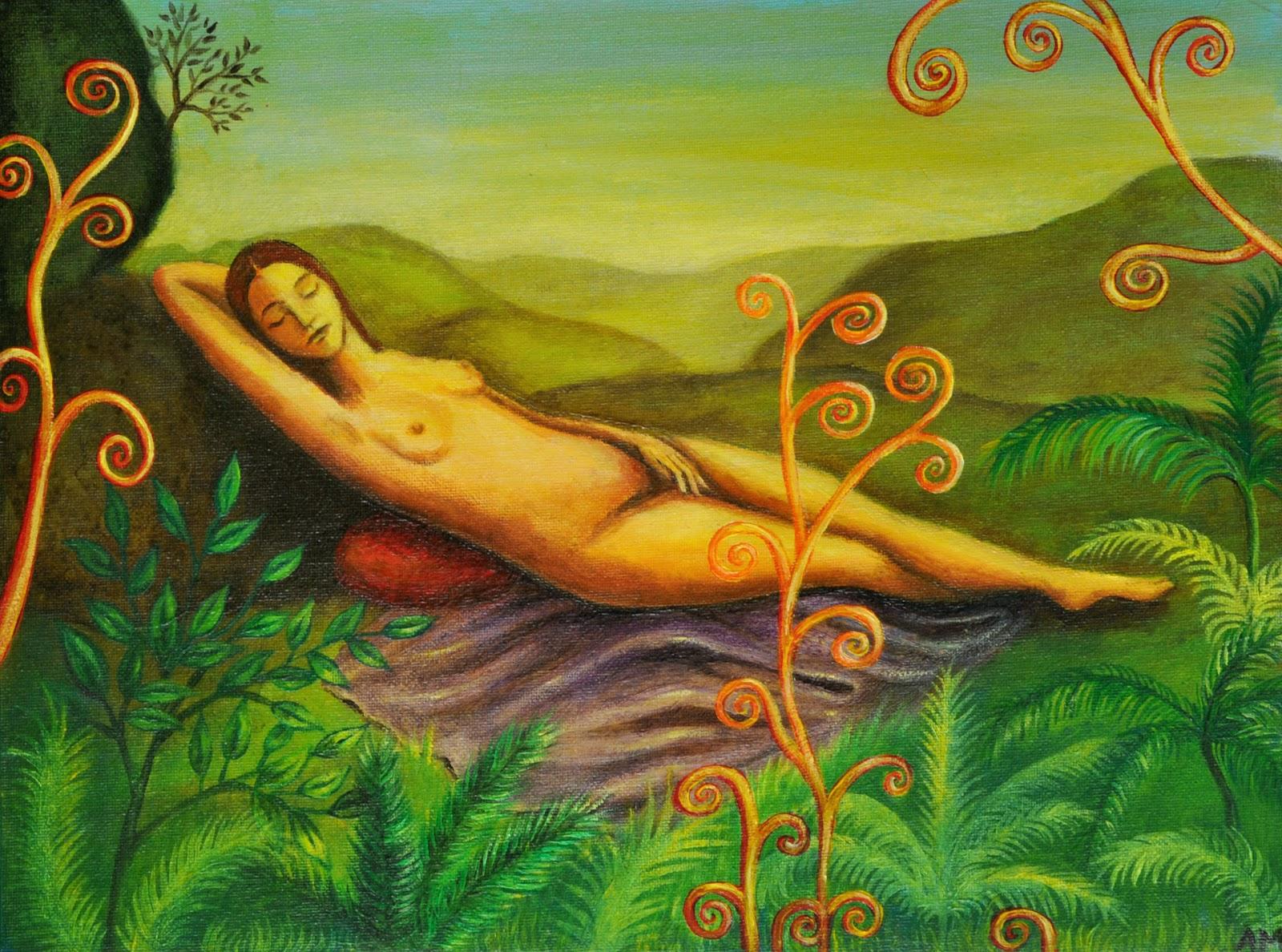 Sleeping Venus (Alice Mason, 2009)