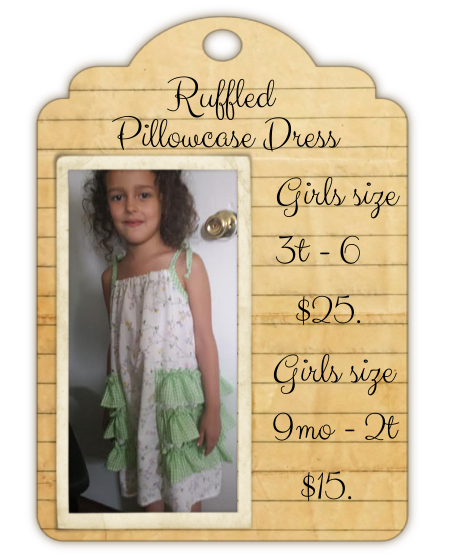 Ruffled Pillowcase Dress