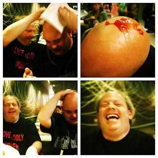 Jimmy's Ketchup Assault!