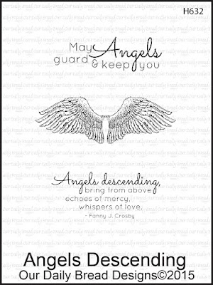 Our Daily Bread Designs Stamp set: Angels Descending