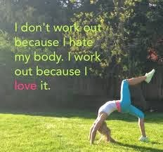 Loving your fit and healthy life...