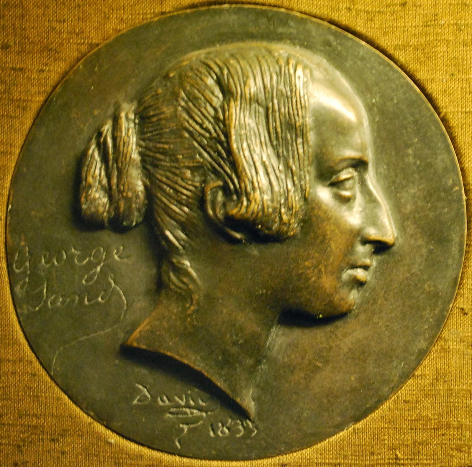 George Sand par David d'Angers