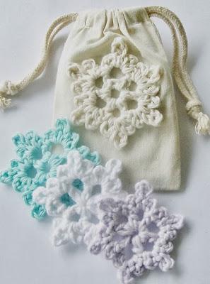 free crochet pattern easy crochet snowflake