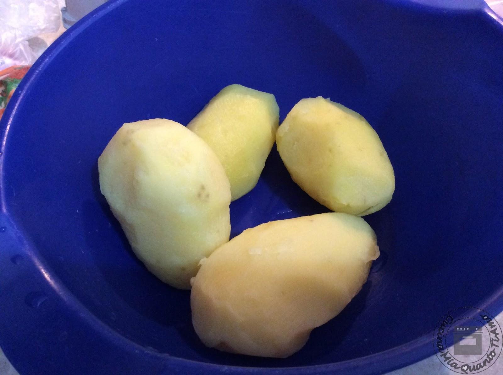 Cucinare le patate al