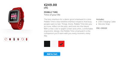 Ya es posible reservar el nuevo Pebble Time desde la web oficial.