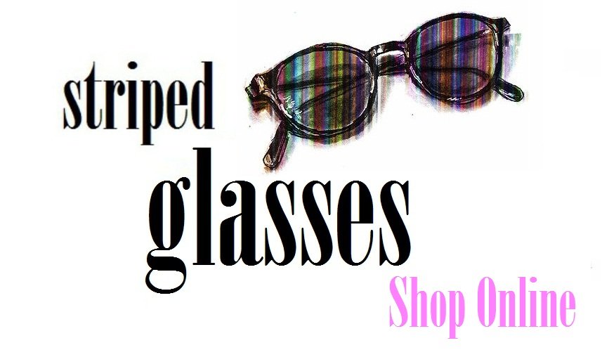 Striped Glasses Shop Online