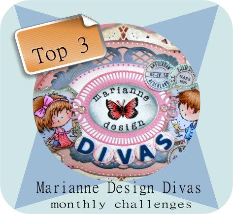 Top 3 Marianne Design Divas