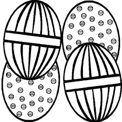 como desenhar Lindos Ovos de páscoa
