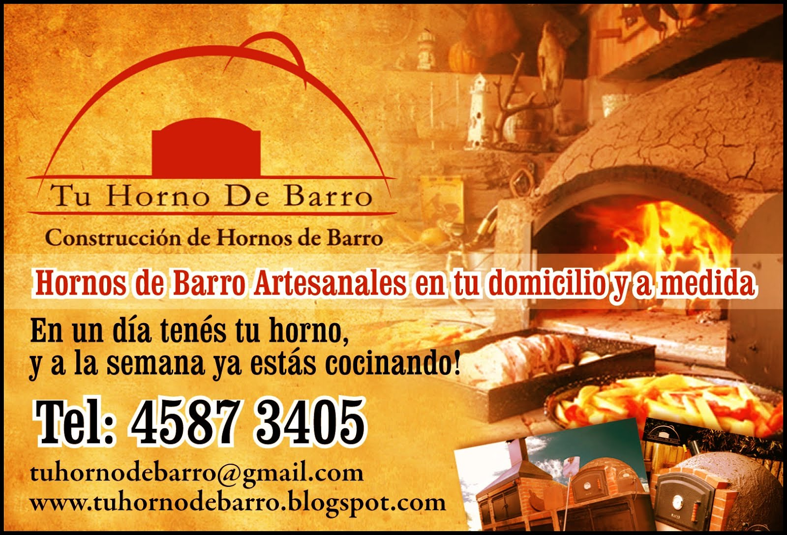 CONSTRUÍMOS TU HORNO de BARRO