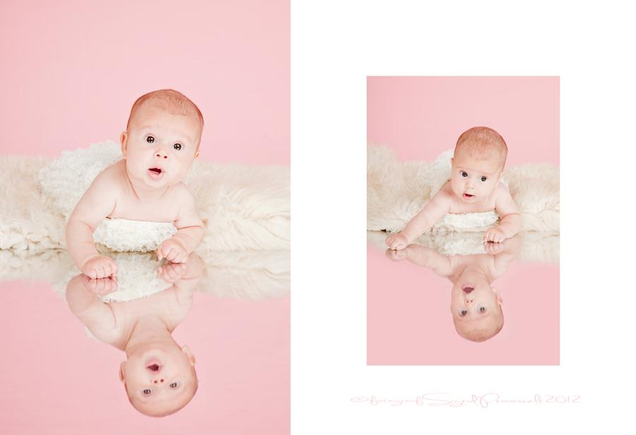 beebitydruk-peeglil-roosa-taust