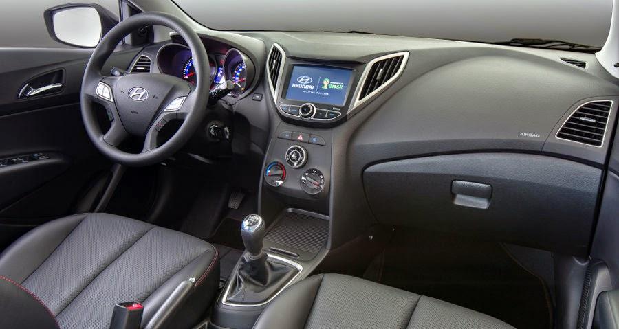 Novo Hyundai Hb20 2014 interior painel