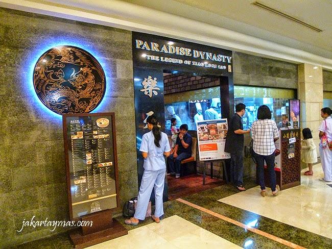 Restaurante Paradise Dynasty en Yakarta