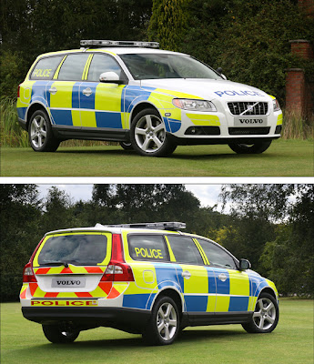 Volvo V70 Police Car