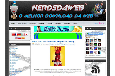 Template do Nerds Da Web