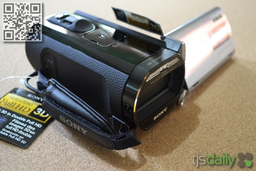 Sony Handycam HDR-TD20V Review Right View