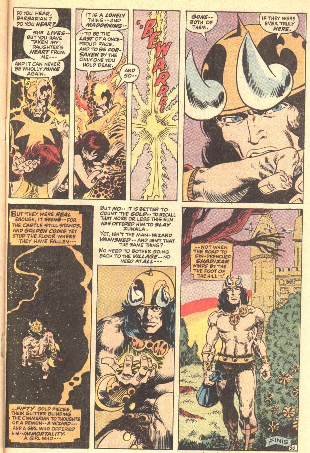 Conan the Barbarian (1970) Issue #5 #17 - English 21