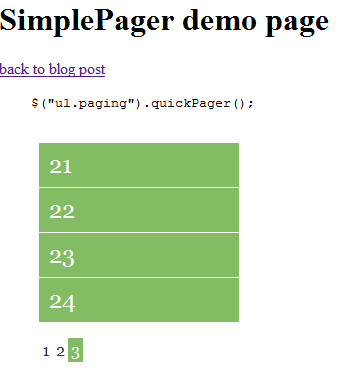 how to create pagination in javascript