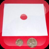 Truco de Magia con moneda y papel