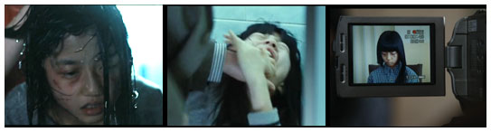 Kim Hyun Soo plays Yeon Doo as she is severely beaten, abused, and later as she gives a video testimony of these transgressions.