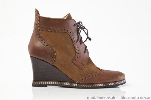 Zapatos, botas y botinetas moda invierno 2013