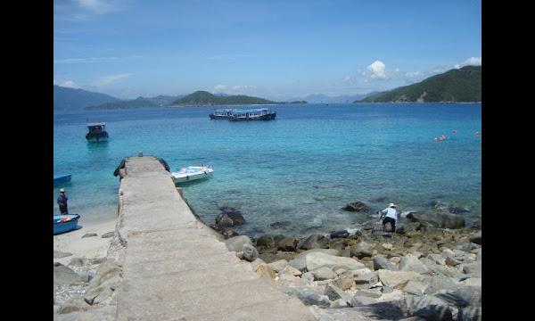 Mar y playas en Nha Trang (Vietnam)